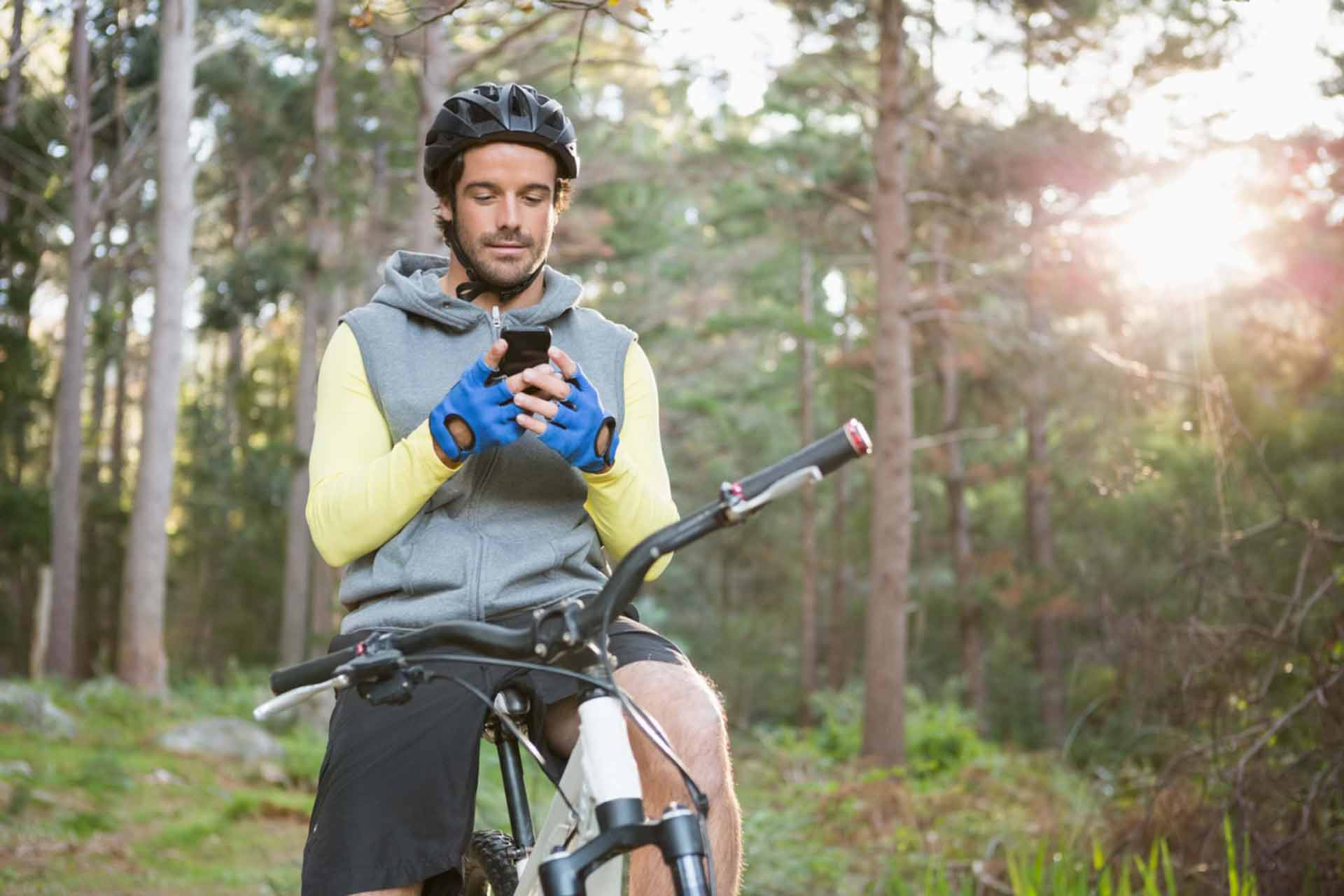 background, sign contract, adventure, bicycle, man